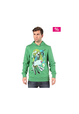 BENCH Hans Hooded Sweat medium green