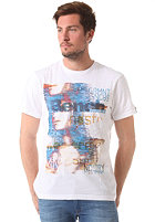 BENCH Invasion Update S/S T-Shirt bright white