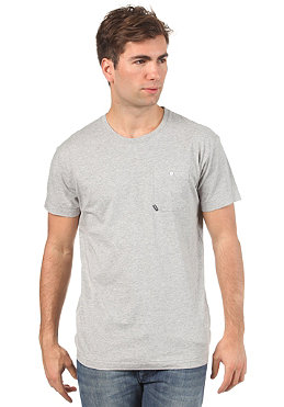 BENCH Juror BDE S/S T-Shirt grey marl