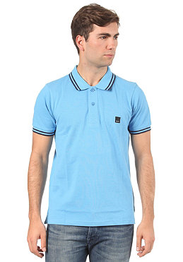 BENCH Kidbrother S/S Polo Shirt azure blue