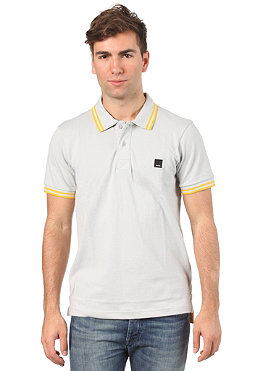BENCH Kidbrother S/S Polo Shirt gray violet