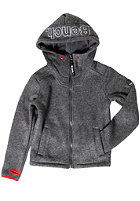 BENCH Kids Affect Knit Jacket dark grey marl
