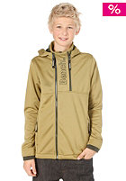 BENCH Kids Agog Hooded Fleece green moss
