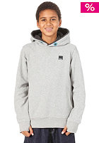 BENCH Kids Amass Hooded Sweat mid grey marl