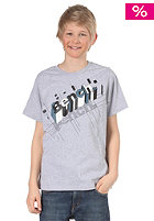 BENCH KIDS/ Boys Disintergrate S/S T-Shirt medium grey marl BBGK 485