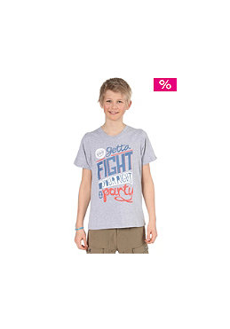 BENCH Kids Boys Fight S/S T-Shirt medium grey marl