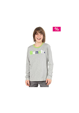 BENCH Kids Boys Giant L/S T-Shirt grey marl