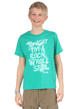 BENCH KIDS/ Boys Rockstar S/S T-Shirt deep green BBGK 495