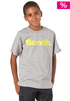 BENCH KIDS/ Boys Standard S/S T-Shirt grey marl BBGK 0460