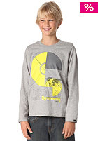 BENCH KIDS/ Boys System L/S T-Shirt grey marl BBGK 0446