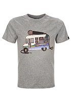 BENCH Kids Cool Beats S/S T-Shirt grey marl
