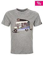 BENCH Kids Cool Beats S/S T-Shirt grey marl