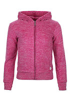 BENCH Kids Funcloud Hooded Zip Sweat raspberry rose