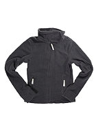BENCH Kids Funnel Neck Cardigan jet black