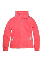 BENCH Kids Funnel Neck Cardigan paradise pink
