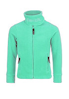 BENCH Kids Funnel Neck Sweatjacket aqua green