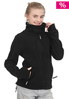 KIDS/ Girls Core Funnel Neck Zip Fleece black BGEK 153B