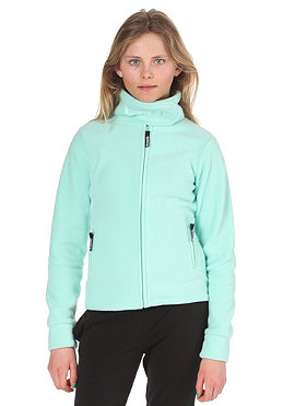 BENCH KIDS/ Girls Core Funnel Neck Zip Fleece ocean wave BGEK 153B