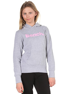 BENCH KIDS/ Girls Yo Yo Hooded Sweat medium grey marl/pastel lavender BGEK 291