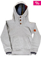 Kids Jerig Hooded Sweat grey marl