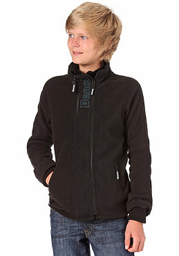BENCH KIDS/ Litter Zip Fleece Sweat black/legion blue BBEK 135