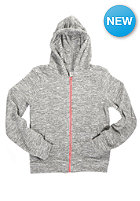 BENCH Kids Lostworld Hooded Zip Sweat smoked pearl