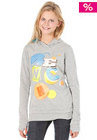 BENCH Kids Papercut Hooded Sweat mid grey marl