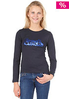 BENCH Kids Scribble Longsleeve total eclipse