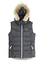 BENCH Kids Snowyowl Vest jet black