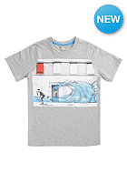 BENCH Kids Wall Ride S/S T-Shirt grey marl
