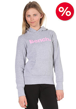 BENCH Kids Yo Yo Hooded Sweat medium grey marl/pastel lavender