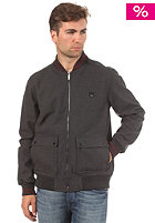 BENCH Kirkby Jacket dark grey marl