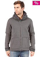 BENCH Loris Hooded Zipper dark grey marl