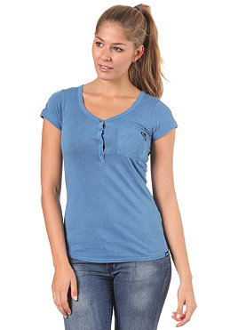 BENCH Maddison S/S T-Shirt federal blue BLG 2352