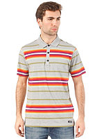 BENCH Margam Polo S/S Shirt grey marl