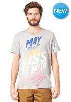 BENCH May The Bass S/S T-Shirt grey marl