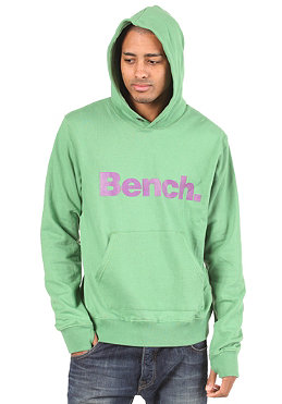 BENCH Mens Affront Hooded Sweat medium green BME 1270B