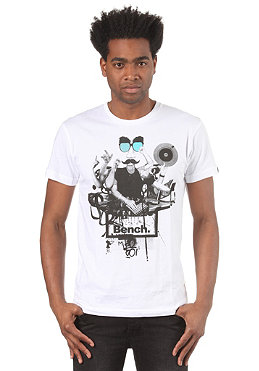 BENCH Mens DJ Octo S/S T-Shirt white BMG 2733