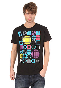 BENCH Mens Drop Code S/S T-Shirt black BMG 2704