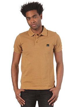BENCH Mens  Expole B S/S Polo Shirt dijon BMG 2322B