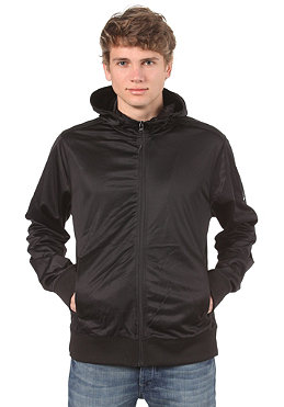 BENCH Mens Heston Hooded Zip Sweat black/grey BME 1870