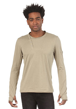 BENCH Mens Ibert L/S T-Shirt silver sage BMG 2681