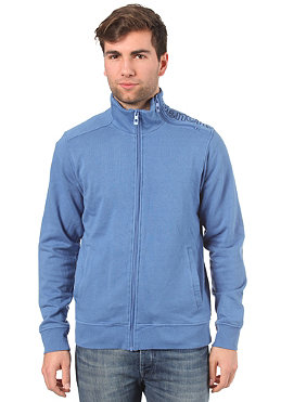 BENCH Mens Ike Zip Sweatshirt federal blue BME 1968