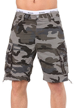BENCH Mens Ironside Shorts black ink camo BML 109