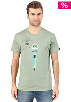 BENCH Mic Feedback S/S T-Shirt hedge green