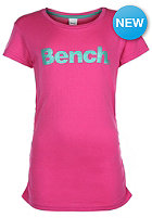 BENCH New Deckstar B S/S T-Shirt raspberry rose