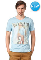 BENCH Nice Ride S/S T-Shirt sky blue