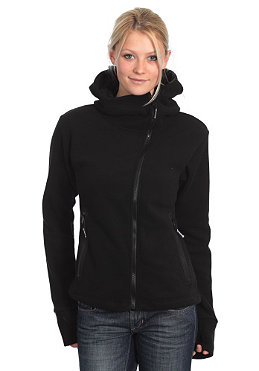 BENCH Ninja Asymmetric Zip Fleece black BLE 333