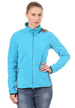 BENCH Paige Zip Fleece Sweatshirt blue danube BLE 2955