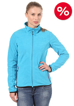 BENCH Paige Zip Fleece Sweatshirt blue danube